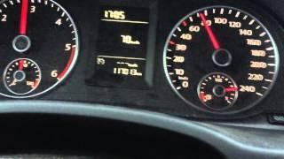 VW Caddy 1.6 TDI 105 HP 0-100 km/h
