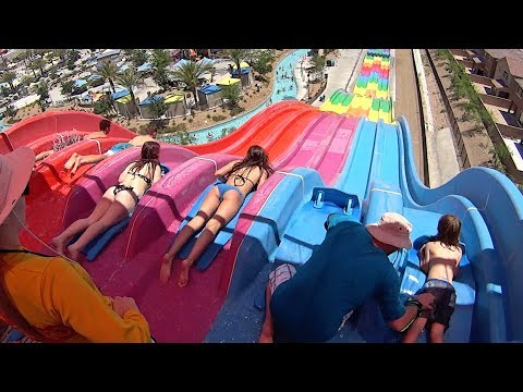 Desert Racers Water Slide at Wet'n'Wild Las Vegas