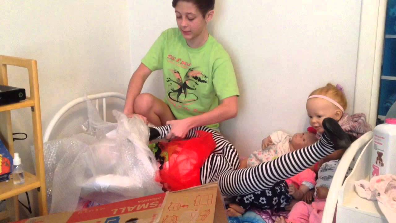 Reborn Child Box Opening Funnydog Tv
