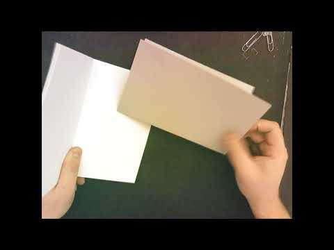 How to make a cheap sketchbook
