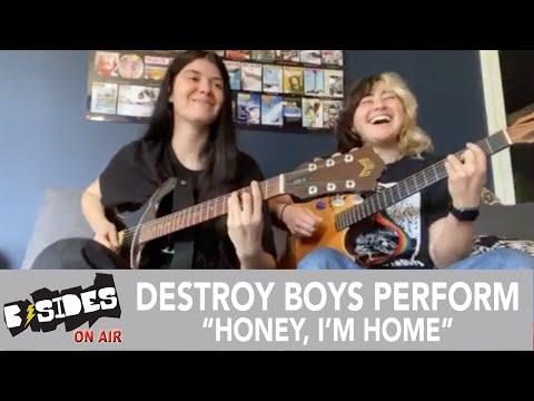 "Destroy Boys Perform ""Honey, I'm Home"" Acoustic for B-Sides"