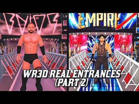 WR3D Real Entrances Part-2! (Links in Description) - YouTube