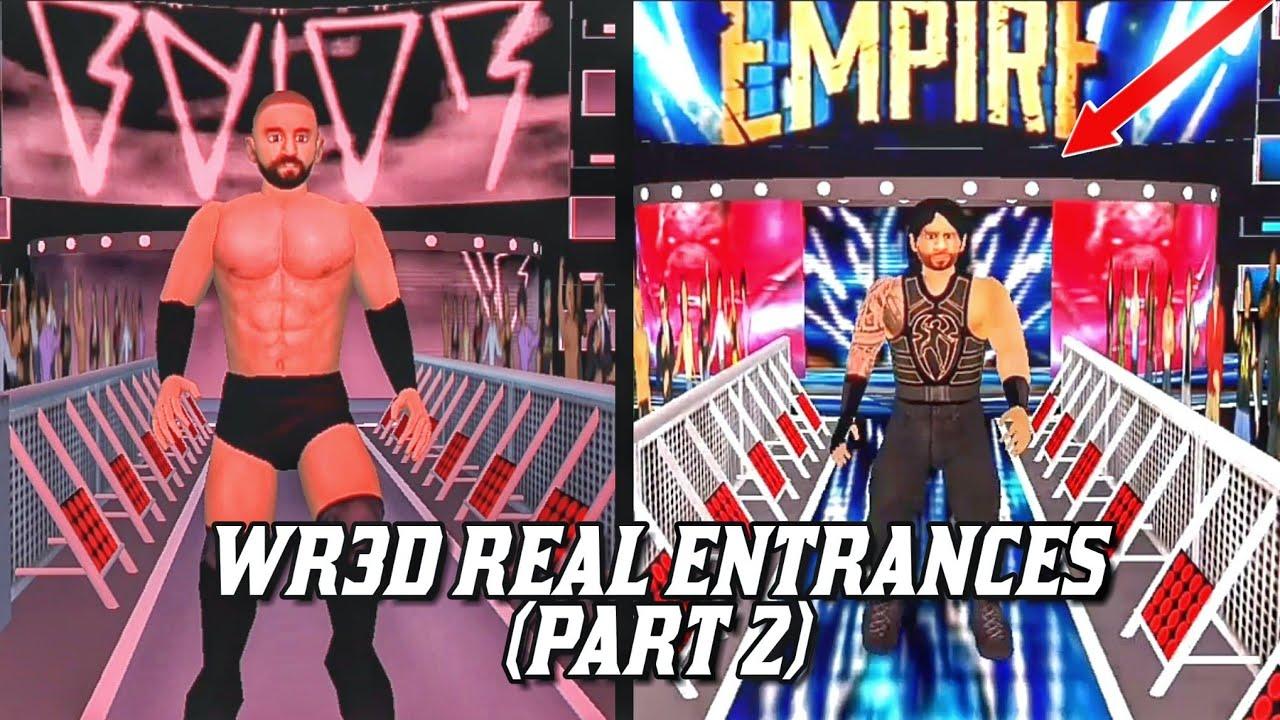 WR3D Real Entrances Part-2! (Links in Description)