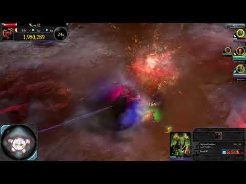 Dawn of War 2 The Last Stand - Necron Overlord - Anvil - No Deaths  