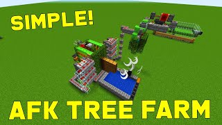 SEMI-AUTOMATIC [TNT Powered] Tree Farm 1.16+ | Best, Easy Minecraft Farms