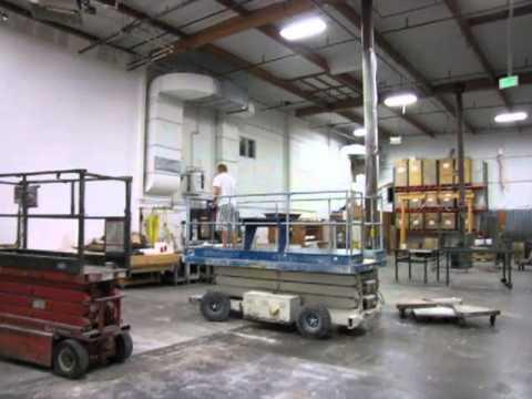 marklift 25-e electric scissor lift