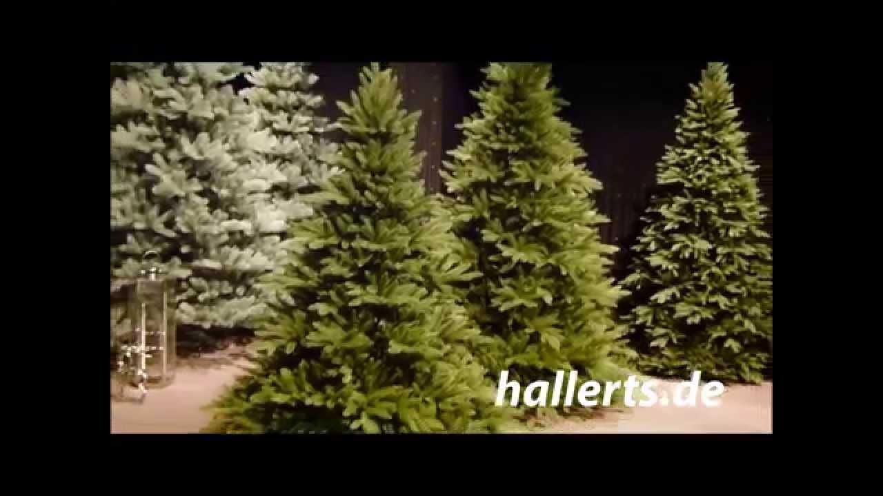 Hallerts Weihnachtsbaum.Künstlicher Spritzguss Christbaum Lancaster Ca 180cm
