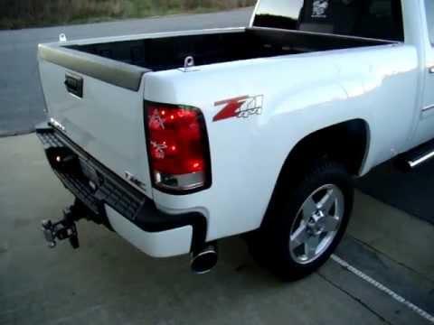 2011 GMC Denali Duramax Banks Monster Exhaust Sound Clip ...