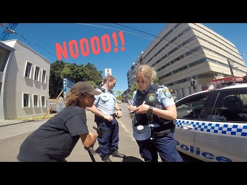 DUNKEAZY FINED BY COPS FOR SKITCHING?!?