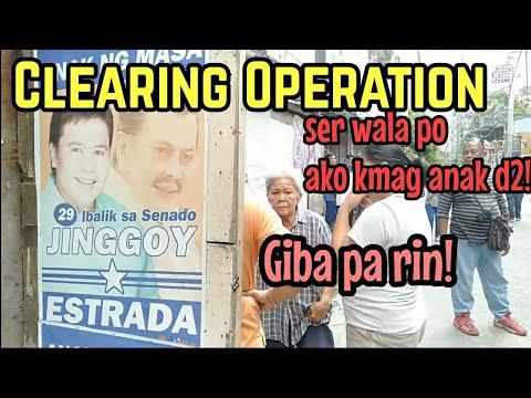 TonDo Clearing Op. Barung barong ni Nanay Sinakop na ang BANGKETA
