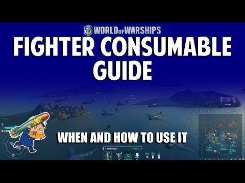 World of Warships Fighter Consumable Guide