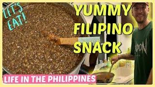 MAGLUTO TAYO NG BIKO - FOREIGNER LEARNING TO COOK BIKO-FILIPINO FOOD