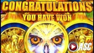 ★AWESOME RUN! FAST CASH★ BIG WIN!! BUFFALO, WICKED WINNINGS, TIMBER WOLF Slot Machine Bonus