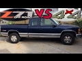 Z71 vs Regular 4x4 Truck - Which is Better?