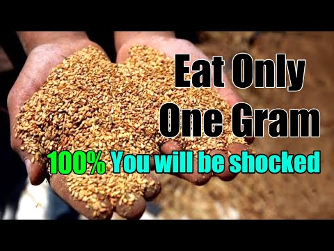 Eat Only One Gram of it. Benefits you more than 13 jars of supplement!