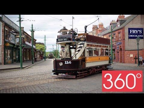 360 degree - Beamish museum, Durham - Main street #Beamish360