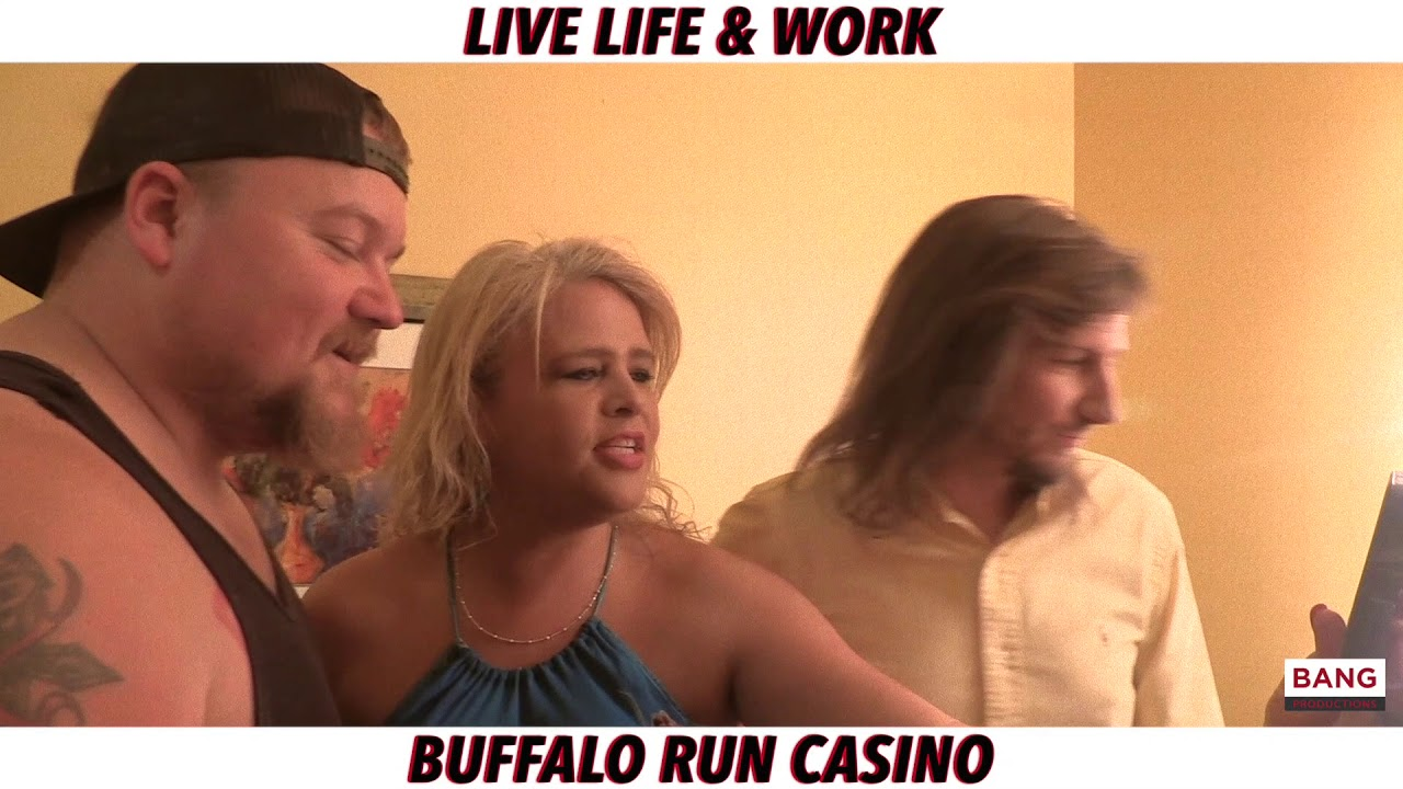 LIVE LIFE & WORK: BUFFALO RUN CASINO FEATURING CATFISH COOLEY! LOL FUNNY LAUGH COMEDY COMEDIANS