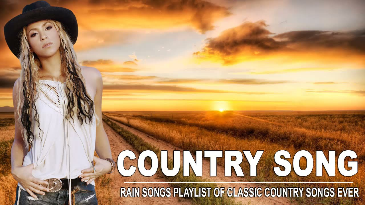 Rain Songs Playlist Of Classic Country Songs Ever - Classic Country Songs About Rain - Country Music