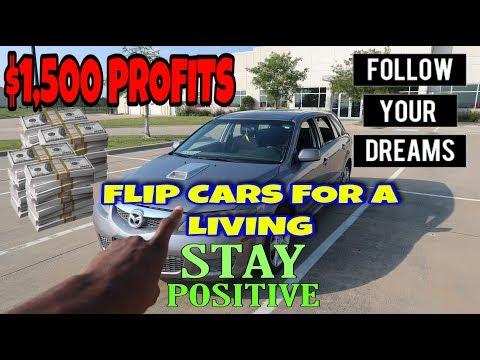 FLIP CARS FOR A LIVING VLOG (CAR BUSINESS)