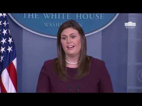 10/3/18: White House Press Briefing