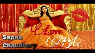 Sapna Chaudhary | Love Bite Song | Journey of Bhangover | Bollywood