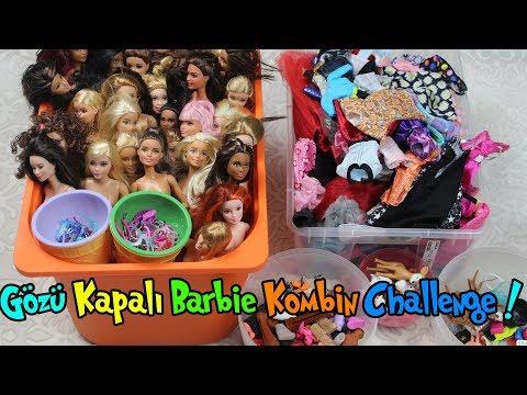 Gözü Kapalı Barbie Kombin Challenge!! | En Güzel Kim Giydirdi? | 1. Bölüm | Bidünya Oyuncak
