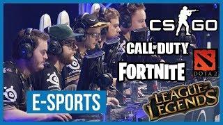 Esports: Alles, was Du über E-Sport wissen musst - von CS:GO über Fortnite bis LoL