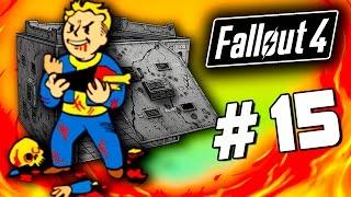 Fallout 4 - ДИКАЯ ОХОТА - Строительство бункера на базе 60 Fps 15