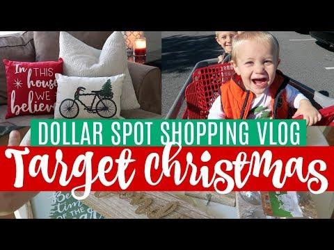 Target Dollar Spot Shop with Me! 🎄 Christmas 2017 & Huge Haul!