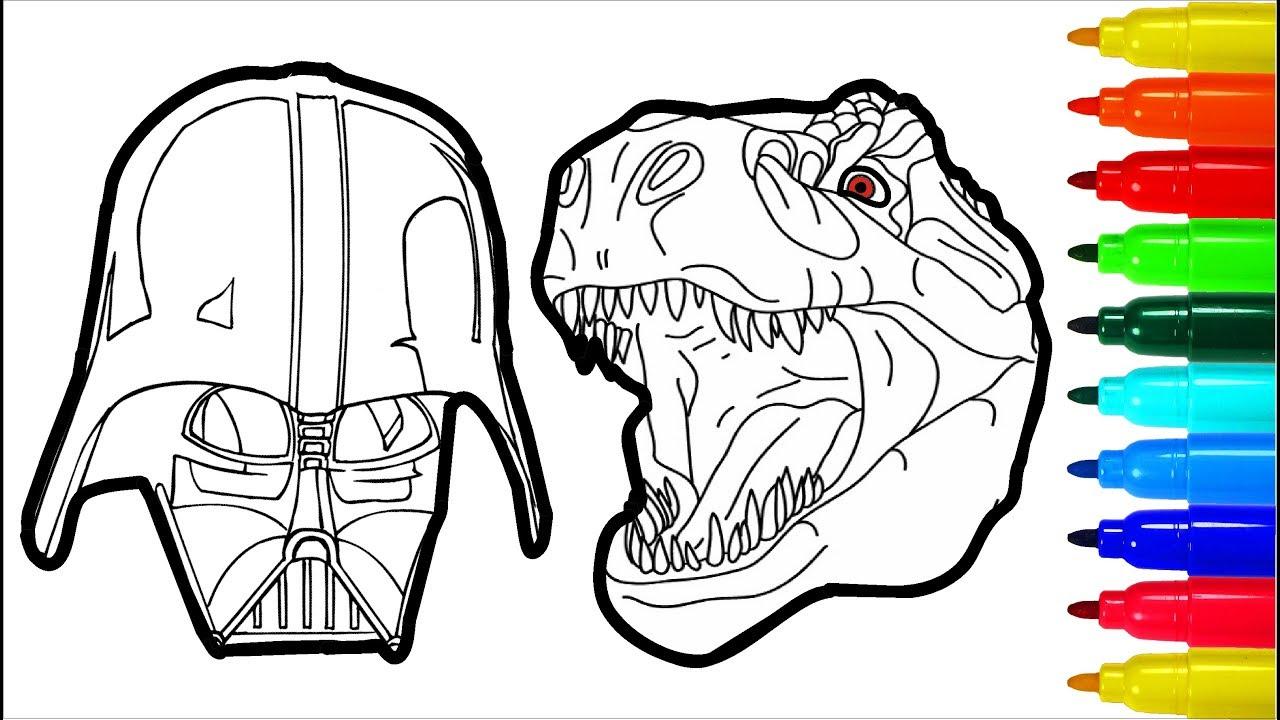 Darth Vader Dinosaur Spiderman