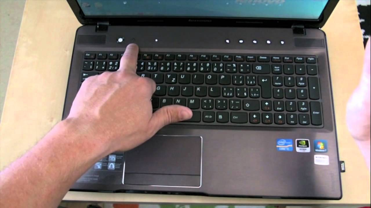 Lenovo IdeaPad Z 570 review - YouTube