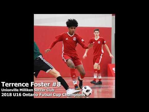 2018 U16 Ontario Futsal Cup Champions - Terrence Foster #8 Highlights