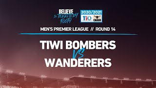 2020/21 TIO NTFL Men's Premier League – Round 14: Tiwi Bombers vs Wanderers