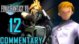 Final Fantasy VII Walkthrough Part 12 - Cloud Vs Rufus & Motorcycle Chase