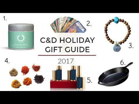 Healthy Holiday Gift Guide 2017 | Clean & Delicious