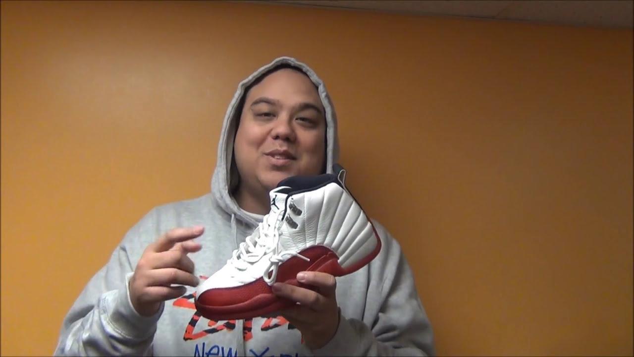1996 OG Air Jordan 12 Cherry XII Sneaker With  DjDelz - YouTube 5ace2f6df