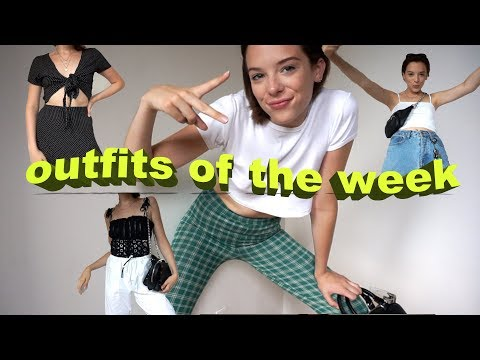 INSTAGRAM WORTHY OUTFITS OF THE WEEK // SUMMERTIME IN NEW YORK CITY thumbnail