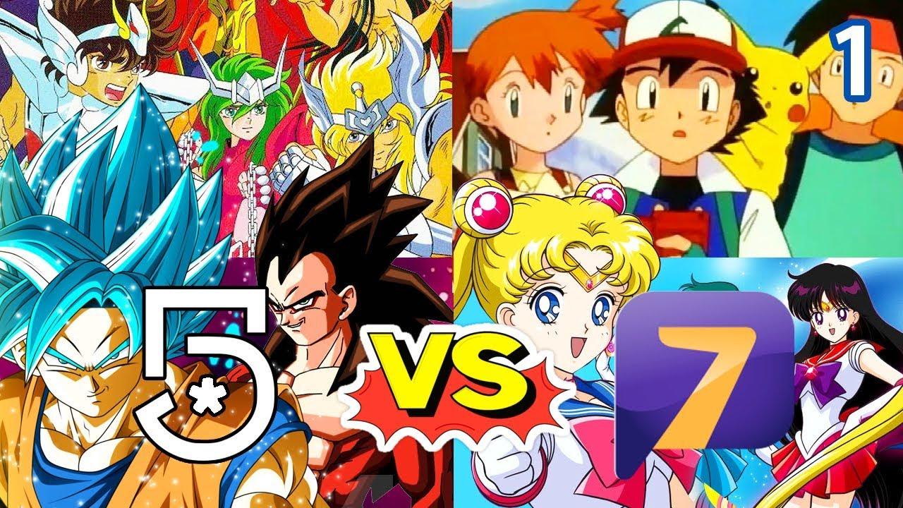Anime de canal 5 vs azteca 7 próximos estrenos parte 1