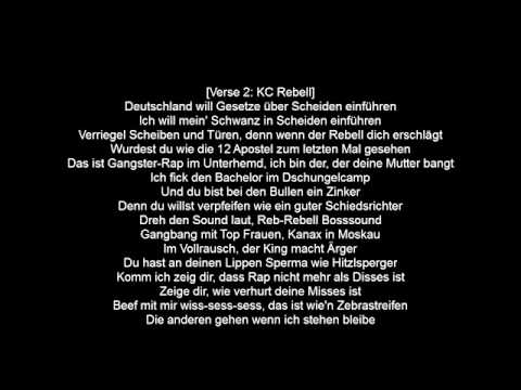 KC Rebell feat Farid Bang - Kanax in Moskau Lyrics HD