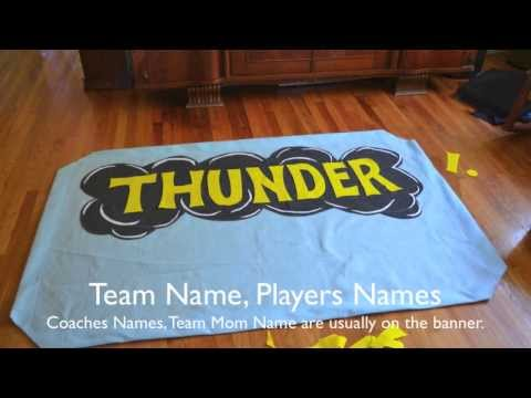 How to Make a Team Banner