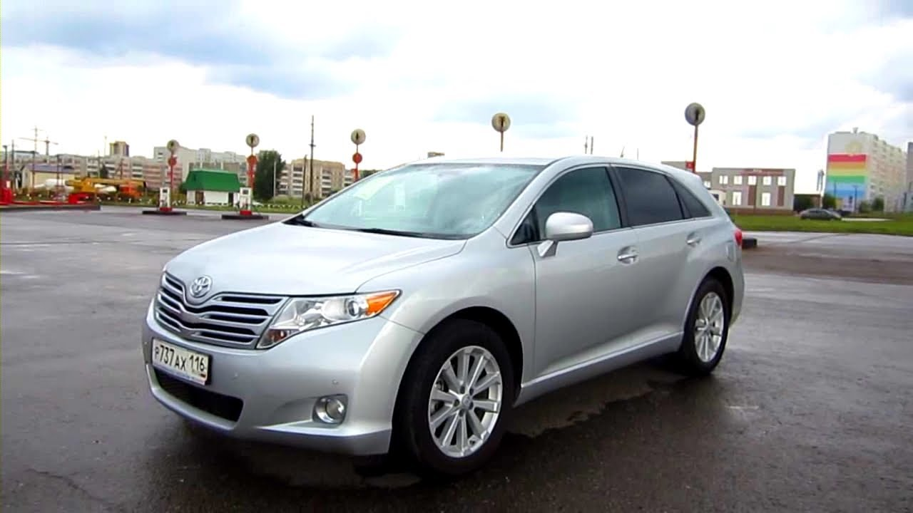 2010 Toyota Venza In Depth Tour Test Drive Youtube