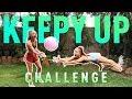 Keepy Up Challenge! | The Rybka Twins