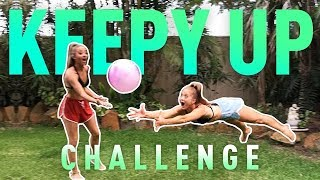 Keepy Up Challenge! | The Rybka Twins
