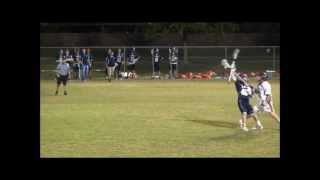 #37 Jordan Hayes Cy-Fair Ironmen Lacrosse Highlights