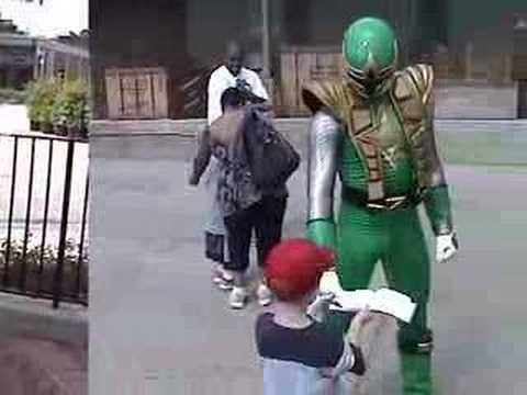 Power Rangers at Disney MGM Studios - YouTube