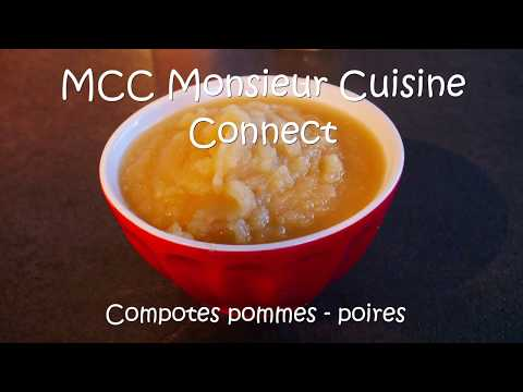 compote-de-pommes-poires-miel-vanille-recette-pour-mcc-monsieur-cuisine-connect-&-tm6-thermomix