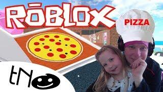 WIR ARBEITEN IN EINEM PIZZERIA | Arbeiten an einem Pizza-Ort | Roblox | Daddy und Barunka CZ/SK