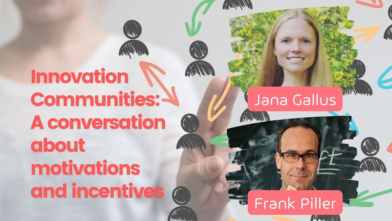 Innovation Communities: A conversation about motivations and incentives
