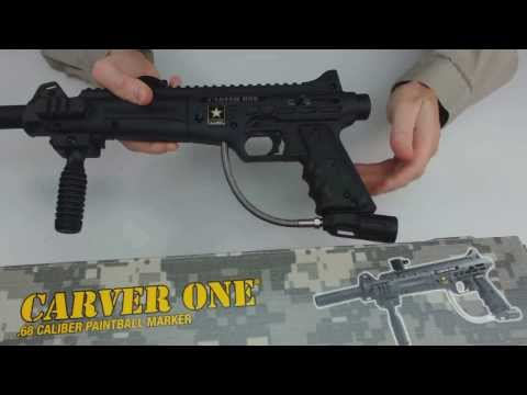 US Army Carver One Paintball Gun Unboxing