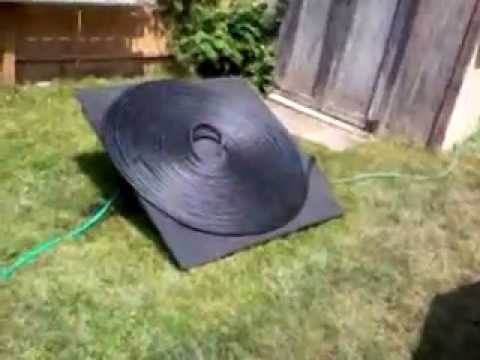 Solar pool heater youtube for Chauffe eau pour piscine